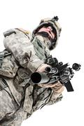 Paratrooper airborne infantry Stock Photos