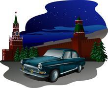 Volga kremlin Piirros