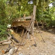 boatyard - stock photo