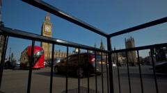 Big Ben & Parliament Timelapse London Stock Footage