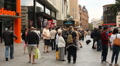 Leicester square, London HD Footage