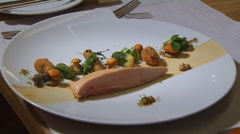 Baked Fish Dish Stock Footage