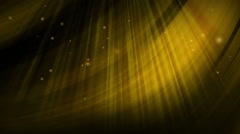 Particles motion background. shining lights, glowing - stock footage