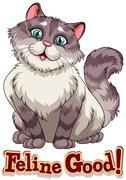 Feline Stock Illustration
