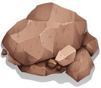 Rocks - stock illustration