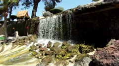 waterfall, Ventura, United States água vody - stock footage
