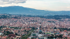 Cuenca Time Lapse Stock Footage