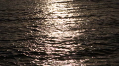 Sunrise reflection - stock footage