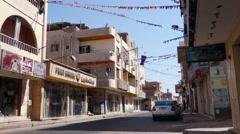 Hurghada streets Stock Footage