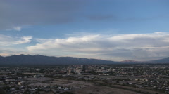 Tucson city day to night timelapse Stock Footage
