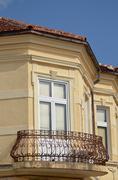 Stock Photo of Balcony in Bitola Macedonia