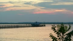Eastern Shore MD Baywater Stock Footage