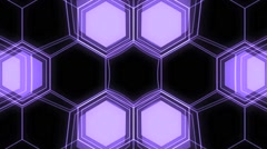 Vj Loops Art Hive Lights Geometric Visual Abstract Background Stock Footage