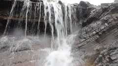 Waterfall, Dolly shot Stock Footage