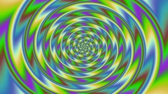 Colorful spiral Full HD Video Stock Footage
