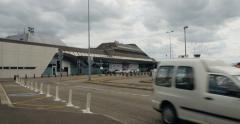 Strasbourg International Airport Stock Footage