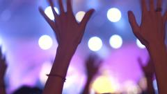 At a Concert - stock footage