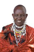 Portrait of a masai Stock Photos