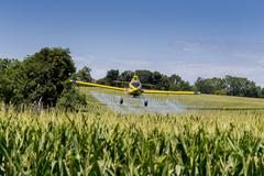 Crop Duster Stock Photos