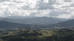 Landscape Colombia Stock Footage