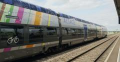 Stock Video Footage of French regional train