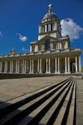 Royal Naval College at Greenwich, London Stock Photos