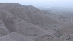 Israeli Desert- Judea/ West Bank - stock footage