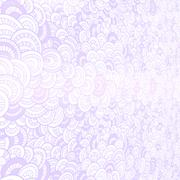 Raster abstract background. Render in 3D program. Curlicues. - stock illustration