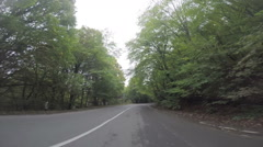 On a road to Tbilisi Stock Footage