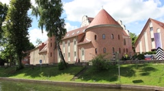 Castle of the Teutonic Order Stock Footage