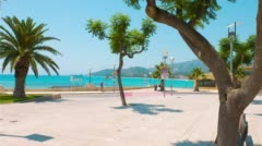 Summer day, Spain in Europe Stock Footage