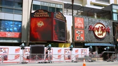 4K, UHD, World Movie Premiere at Chinese Theater on Hollywood Boulevard - stock footage