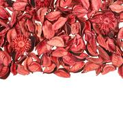 Dried medley potpourri leaves Stock Photos
