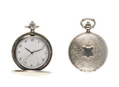 Closed and opened pocket watch Kuvituskuvat