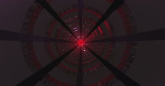 Ultra HD Seamless Scientific Tunnel - stock footage