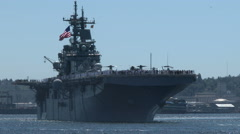 USS Boxer, LHD-4, Wasp-Class Amphibious Assault Ship, ship, navy Arkistovideo
