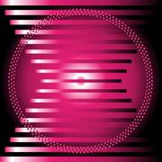 Purple stripe circle Background vector - stock illustration