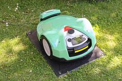 Robotic Mower Stock Photos