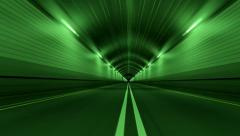 Tunnel Road Driving Fast Endless Seamless Loop 4K - stock footage