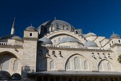 Suleymaniye Mosque Stock Photos