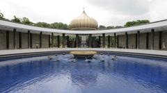 Malaysia National Monument in Kuala Lumpur Stock Footage