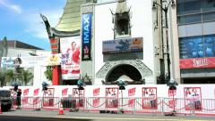 4K, UHD, World Movie Premiere at Chinese Theater on Hollywood Boulevard Stock Footage