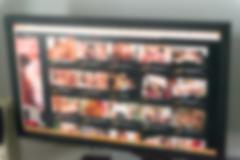 XXX porn site theme blur background - stock photo