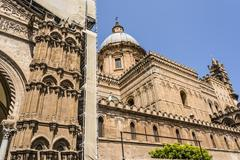 Cathedral of Palermo in Sicily, Italy Stock Photos