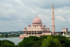 Putrajaya, administrative center of Malaysia Stock Photos