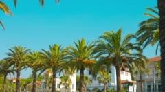 Summer in Europe, Salou City in Spain 4k Stock Footage