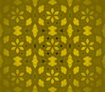Seamless pattern golden blurred Stock Illustration