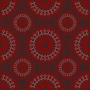 Fine seamless vintage patterns - stock illustration
