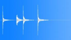Percussive stick score - sound effect