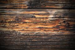 Weathered spruce plank real texture for your architectural design, vintage lo Stock Photos